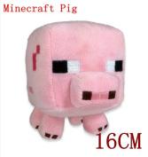 New Minecraft Plush Toy Pink Minecraft Pig Plush Piggy Stuffed Toys 18cm  High Quanlity