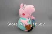30cm Daddy Peppa Pig Papa Plush Doll Gift For Kids