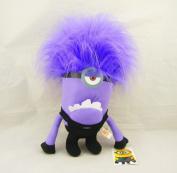 Despicbale Me 2 Purple Evil Minion One Eye Plush Toy Doll 30cm  Action Figure