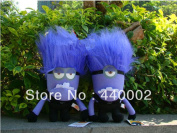 1 Pcs 12 Inchattractive In Price And Quality Poisoning Despicable Me 2d Eye Purple Evil Minion Plush Toy Doll