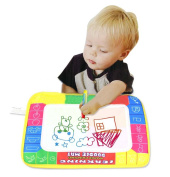 New Learning & Education 29 X 19cm Water Painting Toys Mat/water Drawing Board /baby Play Mat With 1 Magic Pen