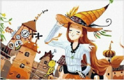 Diy oil painting, paint by number kits for kids - Magic 20X30cm.