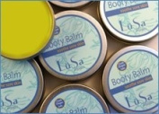Lusa Organics Booty Balm - All Natural Organic Ingredients Soothe Sore Baby Bottoms Including Nappy Rash, Cuts, Scrapes, Sunburn, and Windburn by Lusa Organics