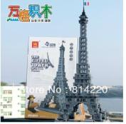 Wange 8015 3d Diy 978pcs Large Bricks Blocks Building Blocks Sets Eductional Block Toys The Eiffel Tower Of Paris