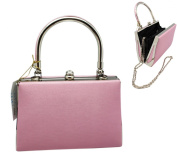Pink Satin Cocktail Purse