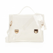 Zarapack Women's Transparent Messenger Shoulder Bag