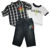 Blac Label Baby Boy's 3 Piece Pant Set