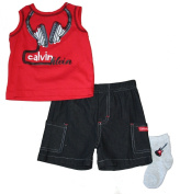 Calvin Klein Infant Boy's Shorts & Tank Set