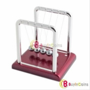 Newton's Cradle Balance Balls Desk Science Toy Gift[3765|01|01]