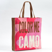 Enesco Homefront Girl Colour Me Tote, 42cm , Camo