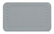 MastaPlasta Peel and Stick First-Aid Leather Repair Band-Aid. Plain design 10cm by 6.1cm . GREY