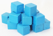 Harbour Sales HWB13a Beeswax for Candle Making and Crafts, Sky Blue