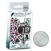50 Grammes Crystal Clay Two Part Epoxy Mix - Silver