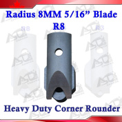 R8 Radius(0.8cm ) Replaceable Die Blade for All Metal Corner Rounder Punch Cutter