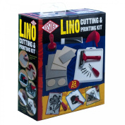 Essdee Lino Cutting and Printing Kit - 22 Pieces