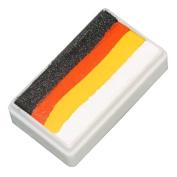 TAG Face Paint Custom 1-Stroke Split Cake - Pumpkin
