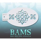 Bad Ass Celtic Knot Mini Stencil BAM2002