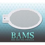 Bad Ass Mini Dots Mini Stencil BAM2035