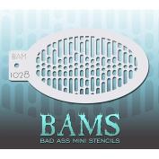 Bad Ass Data Stream Mini Stencil BAM1028