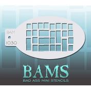 Bad Ass Bricks Mini Stencil BAM1030