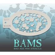 Bad Ass Nebula Mini Stencil BAM3005