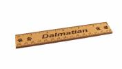 Dalmatian 15cm Alder Wood Ruler