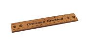 Chinese Crested 15cm Alder Wood Ruler