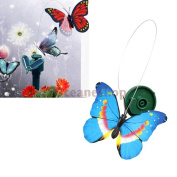Solar Powered Flying Butterfly Garden Decoration. Colour At Random