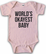 Infant and Toddler's World's Okayest Baby One Piece Romper - Funny Creeper