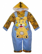 Tiger Cub 2 Piece Set with Padded Jacket & Shortalls 12-18 Months