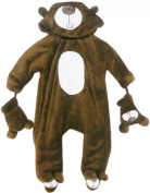 Baby Bear Microplush Snowsuit for Toddlers 12-18 Months