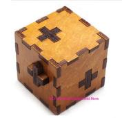 Swiss Secret Wooden Puzzle Box