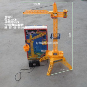 Remote Control Tower Crane Wire Crane Machine Engineering Car Crane Toy Large Remote Control Toy