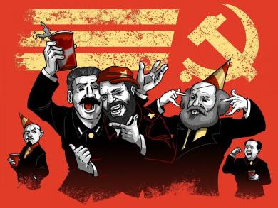 quotcommunist partyquot funny pun famous communist leaders