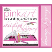 Royal and Langnickel Pink Art Sketching and Drawing Studio Artist Set