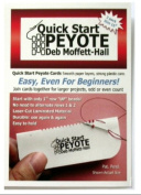 Quick Start Peyote Cards, Size 15 Seed Beads, Pack of 3 Cards