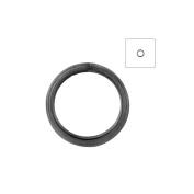 About 570pcs Zacoo Open Jump Rings Shape Round Colour Gun metal Black 6x6x0.7 Outside Diameter 6mm