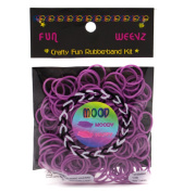 Fun Weevz Purple to Pink Mood Rubber Bands