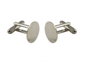 Cuff Links Blanks - 20 (10 pairs) - 15mm Glue Pads
