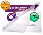 7 Mil 6 x 9 Laminating Pouches Qty 100 Hot Laminator Sleeves
