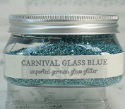 Miss Mustard Seed Glass Glitter - Carnival Glass Blue
