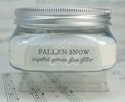Miss Mustard Seed Glass Glitter - White Fallen Snow