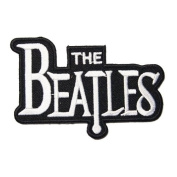 8.6cm x 5.1cm The Beatles Embroidered iron on patch metal punk hip hop band logo for t shirt hat jacket