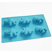 Fun Dinosaur Chocolate Soap Candle Cookies Mould Silicone Mould Party Favours