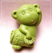 Longzang Zodiac monkey S0239 Craft Art Silicone Soap mould Craft Moulds DIY Handmade soap moulds