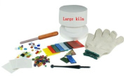 Extra Large Professional Microwave Kiln Kit 10 Piece Set