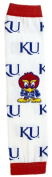 Licenced Kansas Jayhawks Baby & Kids Leg & Arm Warmers - Little Hawk