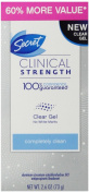 Secret Clinical Strength Clear Gel Women's Antiperspirant & Deodorant Completely Clean Scent 80ml