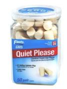Flents/GMS Quiet Please Foam Ear Plugs 50-pair