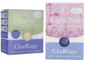 Glad Rags One Organic Night Pad + Day Pad